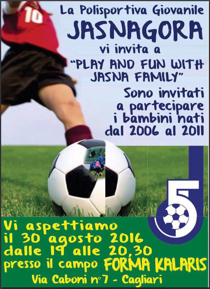 Locandina Play Jasna Family