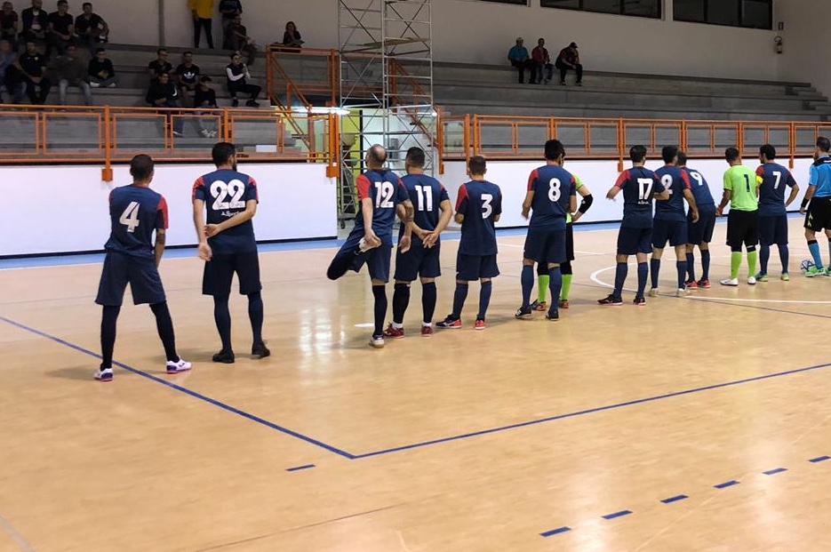 C1, Jasna sul campo del Futsal 4 Mori