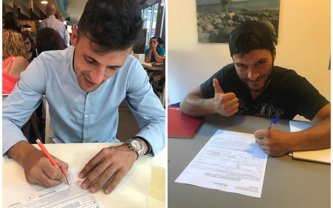 Benvenuti Alessio e Alberto!
