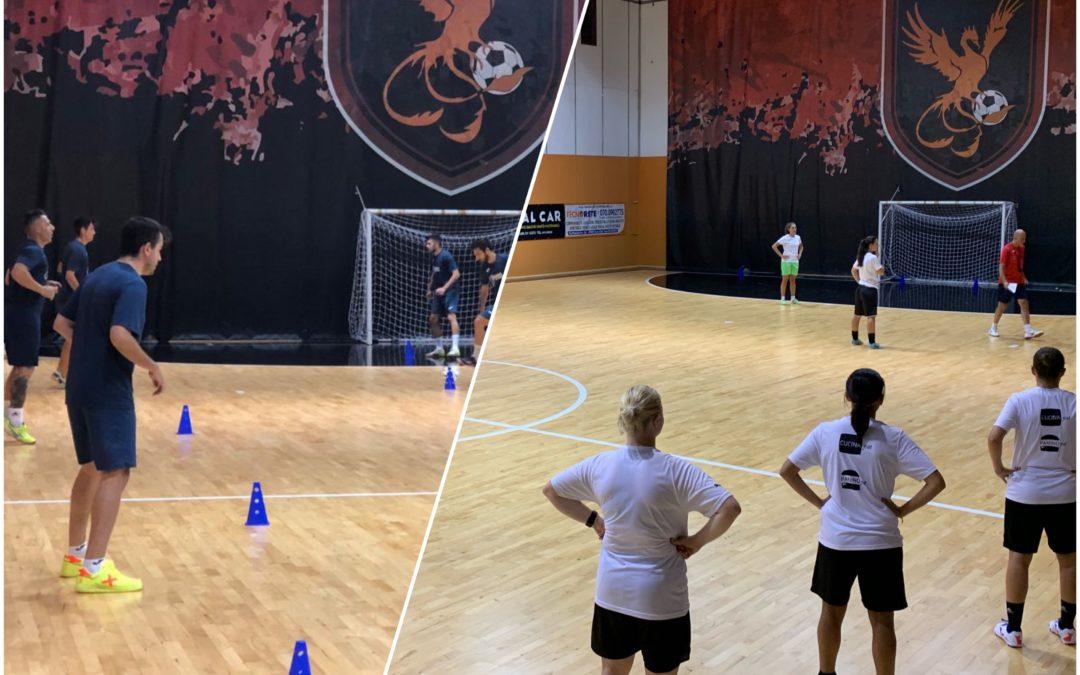 Jasnagora, inizia la preparazione della squadra maschile e femminile