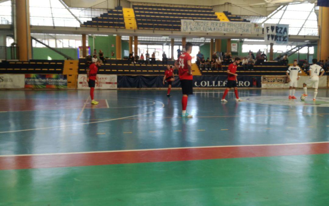 Serie B, vittoria esterna contro il Forte Colleferro