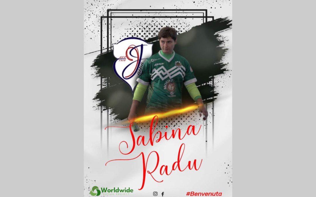 A2 femminile, benvenuta Radu